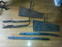 model a axle and misc parts