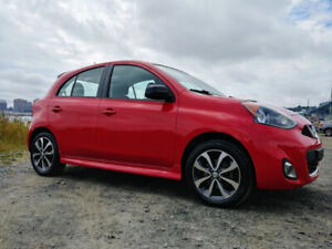 2015 Red Nissan Micra