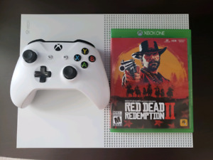 XBOX One S 4k+Red Dead Redemption 2
