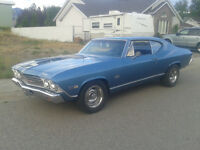 1968 Chevelle Malibu 2 door hard top