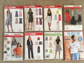 Brand new, unopened sewing patterns - £2 each