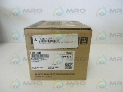 Mitsubishi Fx1n-40mt Plc Module New In Box