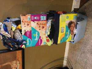 Wide Assortment off boy baby clothes