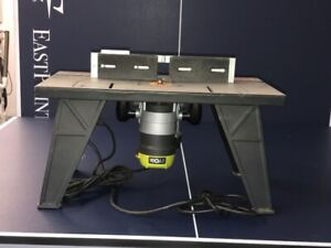 Router with Router Table - Ryobi