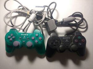 2 x PS1 Controllers - Tested and Working