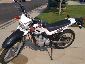 2011 Yamaha  XT250 dual purpose motorcycle