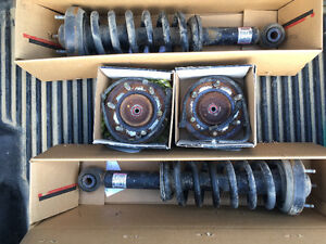 2012 used front struts and wheel bearing hubs