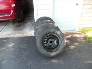 4 tires for sale 25$ each
