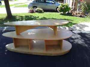 Double deck Table.  Can be separated and used as two tables. Oakville / Halton Region Toronto (GTA) image 2