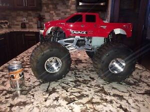 HPI SAVAGE 4.6 GAS POWERED REMOTE CONTROL MONSTER TRUCK Edmonton Edmonton Area image 2