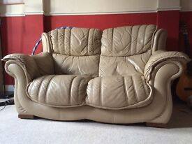 PRICE REDUCED £50 2 seater sofa and matching armchair