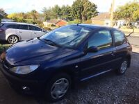 Peugeot 206 - MOT May 2017 - Low Mileage And Well Maintained - Worth A Look