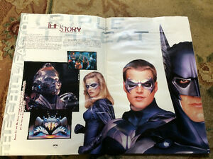 Batman & Robin Movie Program Sarnia Sarnia Area image 2