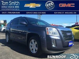 2014 GMC Terrain SLE   - Certified - BLUETOOTH -  SUNROOF