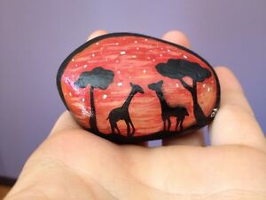 Hand painted decorative rocks!
