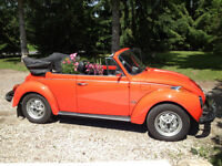 1979 Convertable Beetle for sale.  In great shape!