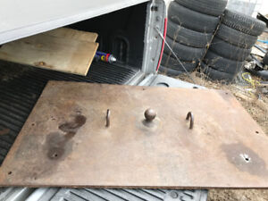 Goose Neck hitch plate