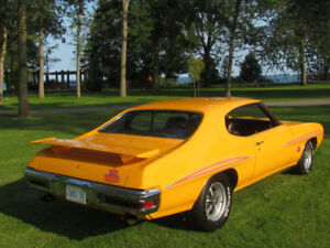 1970 PONTIAC GTO JUDGE 4 SPEED SHOW CAR