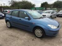 FORD FOCUS 2002 1.6 MY FLIGHT PETROL - MANUAL - 1 OWNER FROM NEW - FULL SRVC HIS