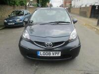 2008 TOYOTA AYGO 1.0 VVT i + 5dr MMT Automatic