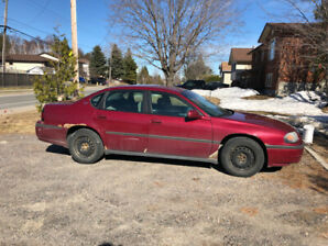 2005 Chev Impala with winter tires included