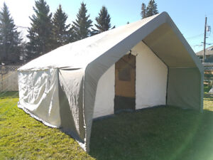 NEW Canvas Tents