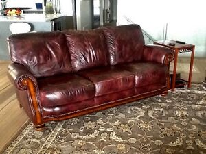 LAZBOY leather couch