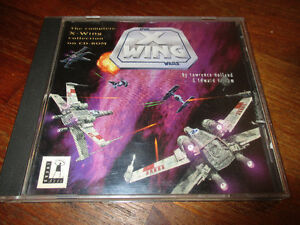 Star Wars X Wing Collector's CD