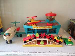 Vintage Little People Airport