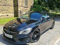 2014 Mercedes-Benz CLA CLASS 1.8 CLA200 CDI AMG Sport 7G-DCT 4dr Coupe Diesel Au