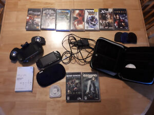 PSP and games bundle!