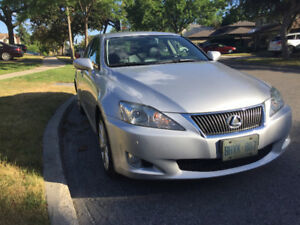 2009 AWD Lexus IS250 FULLY LOADED & SPOTLESS