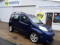 Fiat Qubo Automatic Switch Passenger Driver Wheelchair Upfront WAV Car