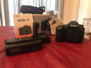 Canon 7D Boitier seulement