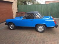 MG midget 1979 excellent condition.