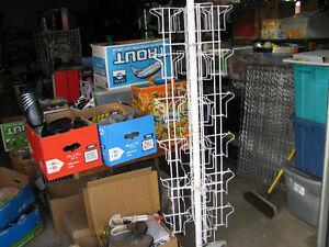 Telescopic Book Display Rack