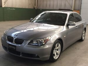 2006 BMW 525i, No Accidents, Dakota Leather, Low Kms!