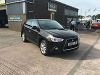 2010 Mitsubishi ASX 3 1.8 TD MPV 5 DOOR HATCHBACK ONLY 68000 MILES