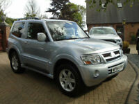 2005 Mitsubishi Shogun 3.2DI-D Auto Warrior 3 Door ( 55000 MILES )