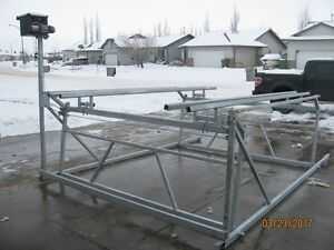 CUSTOM CANTILEVER PONTOON, BOAT AND WAKEBOARD BOAT LIFTS Prince George British Columbia image 4