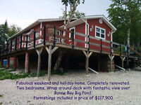 CHRISTMAS VACATION ON THE TRAILS IN BONNE BAY FROM YOUR CABIN