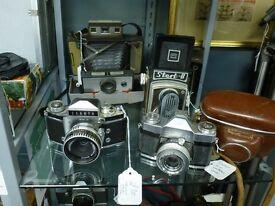 Cameras -ALL TYPES- 35MM, 120,CINE,SLR, FOLDING, RANGEFINDER, BOX, POLAROID, LEICA, NIKON -ALL CHEAP