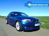 2013/13 BMW 1 SERIES 2.0 120i M SPORT AUTOMATIC 2DR - HUGE SPEC - LOW MILES
