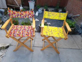 """""""Directors chairs"""" outdoor chairs"""