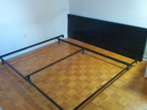 moving sale: bed adjustable frame - can be king, queen or double