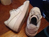 Nike Air Force trainers size 13