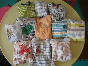 6-12 month boy sleepers