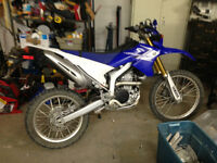 MINT condition WR250R! LOW MILEAGE! Great Price!