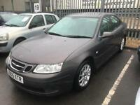Saab 9-3 2.0t 2006 Linear Sport PERFECT. MOT. TAX. LEATHER. FSH. FREE INSURANCE