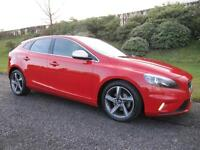 2014 Volvo V40 1.6TD D2 R-Design **Zero Road TAX**115bhp**LOW MILES**